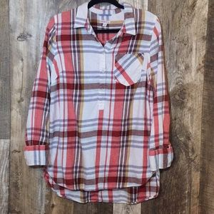 Beautiful Flannel Blouse!
